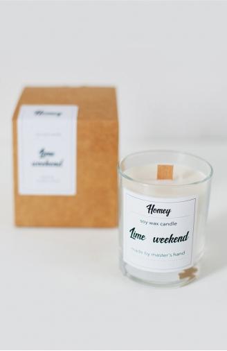 >Ароматна свічка Lime weekend