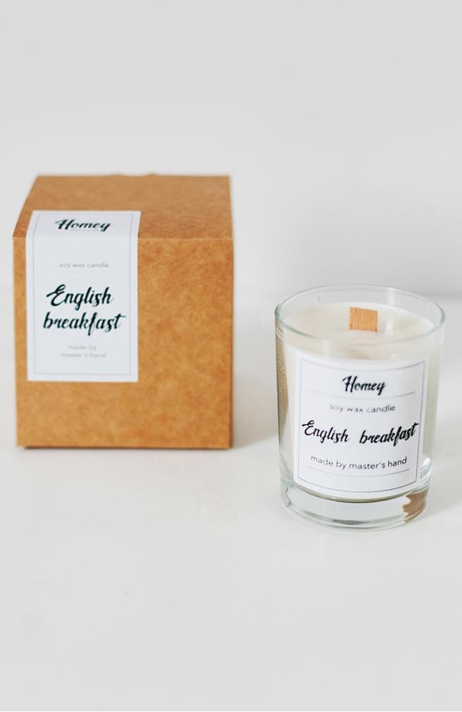 >Ароматна свічка English breakfast