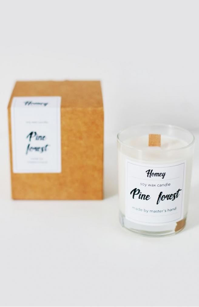 >Ароматна свічка Pine forest