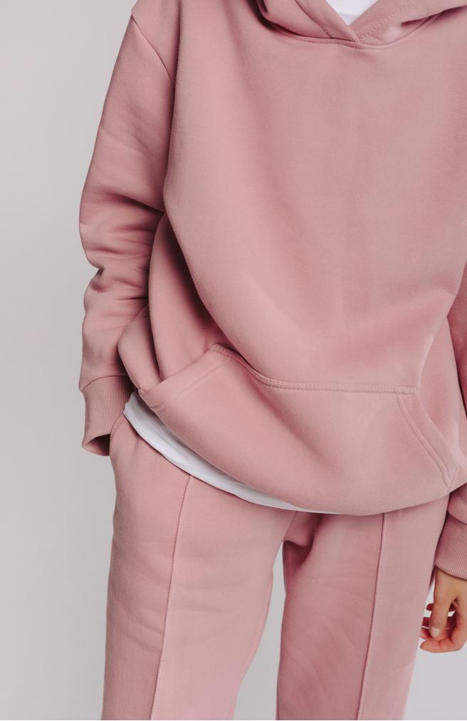 Набір рожевого кольору з начосом