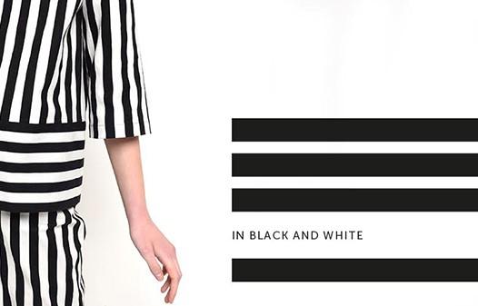 Чорно-біла сміливість у новій колекції B&W Home Couture